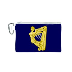 Royal Standard of Ireland (1542-1801) Canvas Cosmetic Bag (S)