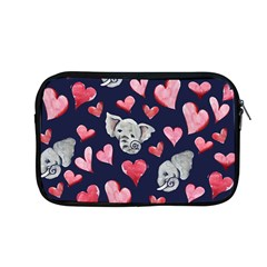 Elephant Lover Hearts Elephants Apple Macbook Pro 13  Zipper Case