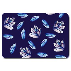 Mystic Crystals Witchy Vibes  Large Doormat