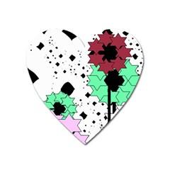 Star flowers             Magnet (Heart)