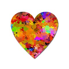Colorful shapes             Magnet (Heart)