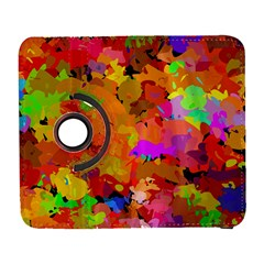 Colorful shapes       Samsung Galaxy Note II Flip 360 Case