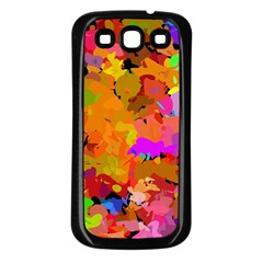 Colorful shapes       Samsung Galaxy S3 Back Case (White)