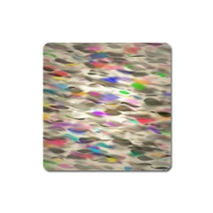 Colorful watercolors           Magnet (Square)