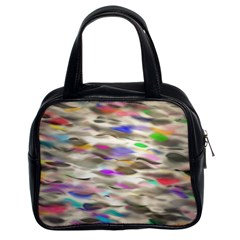 Colorful watercolors           Classic Handbag (Two Sides)