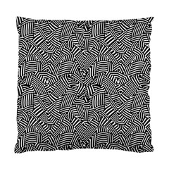Modern Intricate Optical Standard Cushion Case (Two Sides)