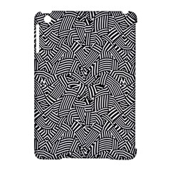 Modern Intricate Optical Apple iPad Mini Hardshell Case (Compatible with Smart Cover)