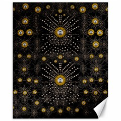 Lace Of Pearls In The Earth Galaxy Pop Art Canvas 16  X 20