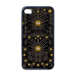 Lace Of Pearls In The Earth Galaxy Pop Art Apple Iphone 4 Case (black)