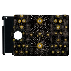 Lace Of Pearls In The Earth Galaxy Pop Art Apple iPad 3/4 Flip 360 Case