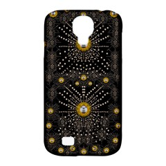 Lace Of Pearls In The Earth Galaxy Pop Art Samsung Galaxy S4 Classic Hardshell Case (PC+Silicone)