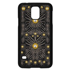 Lace Of Pearls In The Earth Galaxy Pop Art Samsung Galaxy S5 Case (Black)