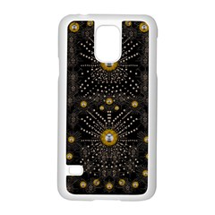 Lace Of Pearls In The Earth Galaxy Pop Art Samsung Galaxy S5 Case (White)