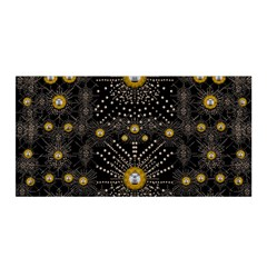 Lace Of Pearls In The Earth Galaxy Pop Art Satin Wrap