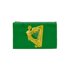 The Green Harp Flag of Ireland (1642-1916) Cosmetic Bag (Small)