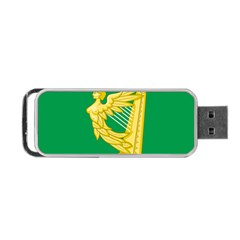 The Green Harp Flag of Ireland (1642-1916) Portable USB Flash (One Side)