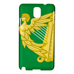 The Green Harp Flag of Ireland (1642-1916) Samsung Galaxy Note 3 N9005 Hardshell Case