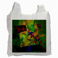 Green paint             Recycle Bag