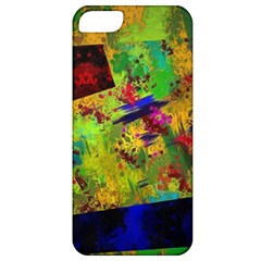 Green paint       Apple iPhone 5 Hardshell Case (PC+Silicone)