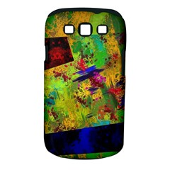 Green paint       Samsung Galaxy S II i9100 Hardshell Case (PC+Silicone)