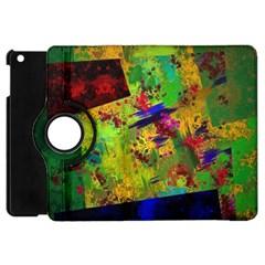 Green paint       Apple iPad 3/4 Flip 360 Case