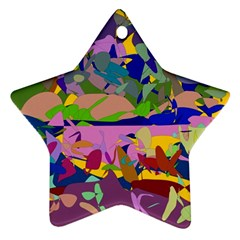 Shapes in retro colors              Ornament (Star)