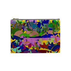 Shapes in retro colors              Cosmetic Bag