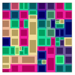 Rectangles and squares              Satin Scarf