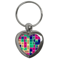 Rectangles and squares              Key Chain (Heart)