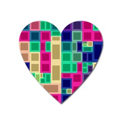 Rectangles and squares              Magnet (Heart)