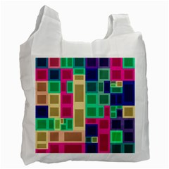 Rectangles and squares              Recycle Bag (One Side)