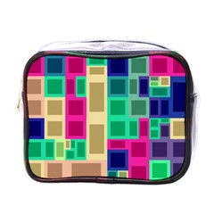 Rectangles and squares              Mini Toiletries Bag (One Side)