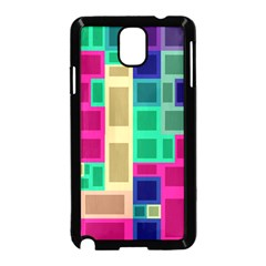 Rectangles and squares        Samsung Galaxy S5 Back Case (White)