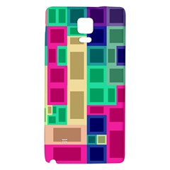 Rectangles and squares        Samsung Galaxy Note Edge Hardshell Case