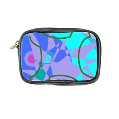 Purple blue shapes         Coin Purse