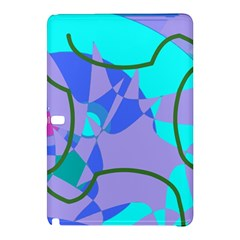 Purple Blue Shapes        Samsung Galaxy Tab Pro 8 4 Hardshell Case