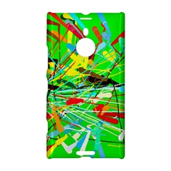 Colorful painting on a green background        Samsung Galaxy S5 Hardshell Case