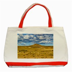 Patagonian Landscape Scene, Argentina Classic Tote Bag (Red)