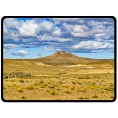 Patagonian Landscape Scene, Argentina Fleece Blanket (Large)