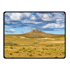 Patagonian Landscape Scene, Argentina Double Sided Fleece Blanket (Small)