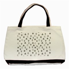 Witchcraft symbols  Basic Tote Bag