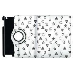 Witchcraft symbols  Apple iPad 3/4 Flip 360 Case