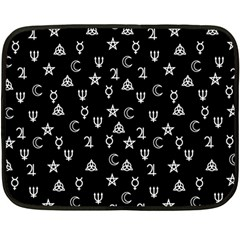 Witchcraft symbols  Fleece Blanket (Mini)