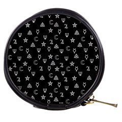 Witchcraft symbols  Mini Makeup Bags
