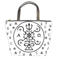 Witchcraft symbols  Bucket Bags