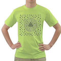 Witchcraft symbols  Green T-Shirt
