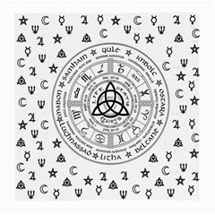 Witchcraft symbols  Medium Glasses Cloth (2-Side)