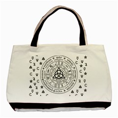 Witchcraft symbols  Basic Tote Bag (Two Sides)