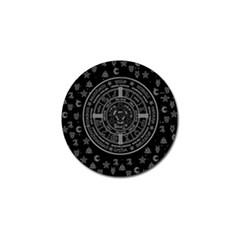 Witchcraft symbols  Golf Ball Marker (4 pack)
