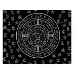 Witchcraft symbols  Rectangular Jigsaw Puzzl